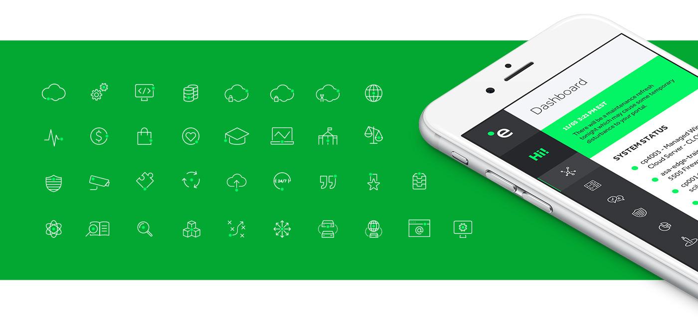 Edge Hosting 品牌视觉形象设计 品牌VIS设计 - IT、电子、通讯网络 任刚 整理分享 (10)