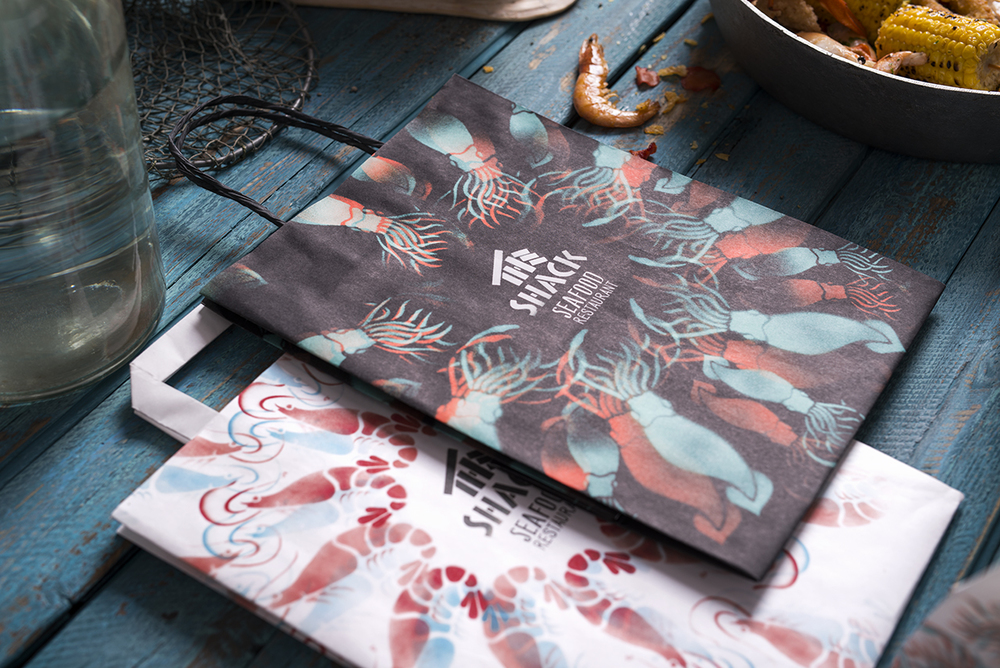 The Shack 餐饮品牌品牌VIS设计,所属行业类别:餐饮、娱乐、休闲 - 任刚 · Ren Gang 世界设计 · 设计世界