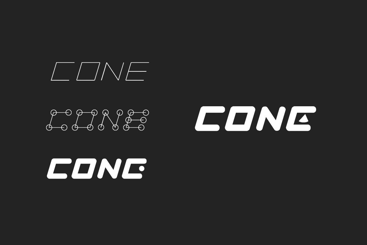 便携式蓝牙音箱品牌 Cone 标识设计 设计师任刚 (3)