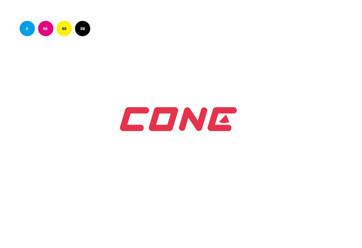 便携式蓝牙音箱品牌 Cone 标识设计 设计师任刚 (5)