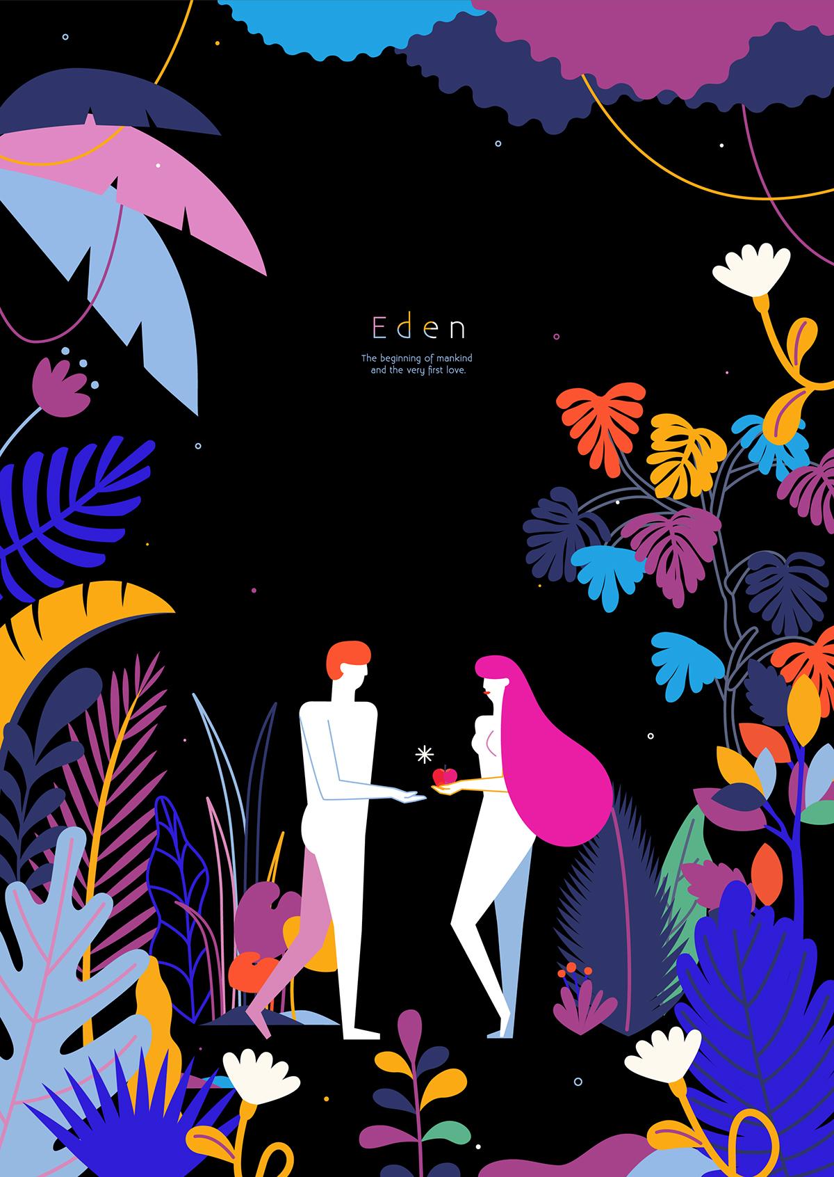 Eden 插画/动漫欣赏 – 欧美插画作品精选