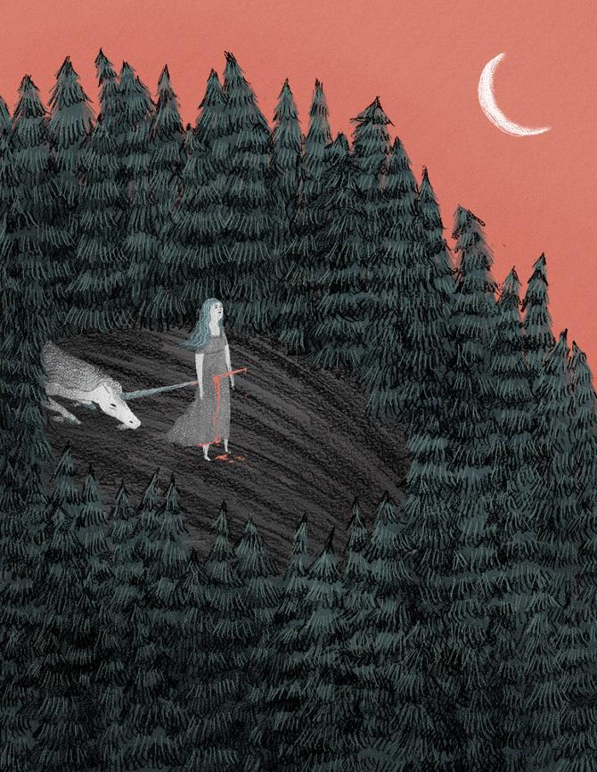 插画 Colleentigheart插画作品欣赏 刚子 任刚 分享设计 (45)