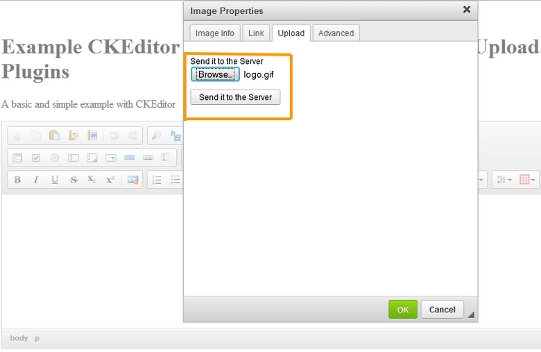 CkEditor 图片与音频上传插件 Image and Audio Uploader For CkEditor 任刚整理分享
