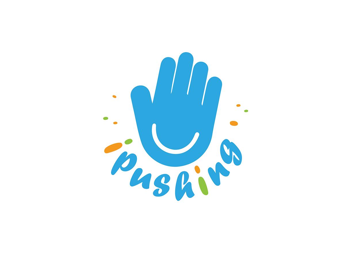 爱普信 / 艾普信(iPushing.com)域名LOGO设计 - 任刚 · Ren Gang 世界设计 · 设计世界
