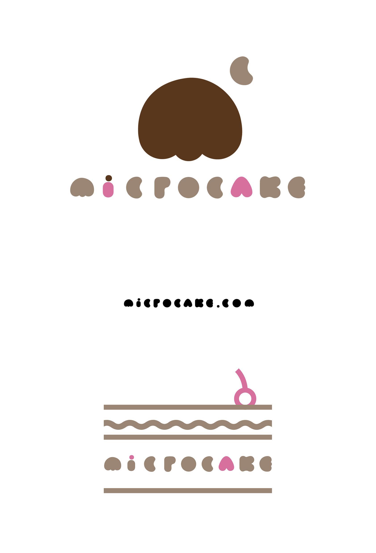 Microcake 蛋糕品牌标识设计 任刚