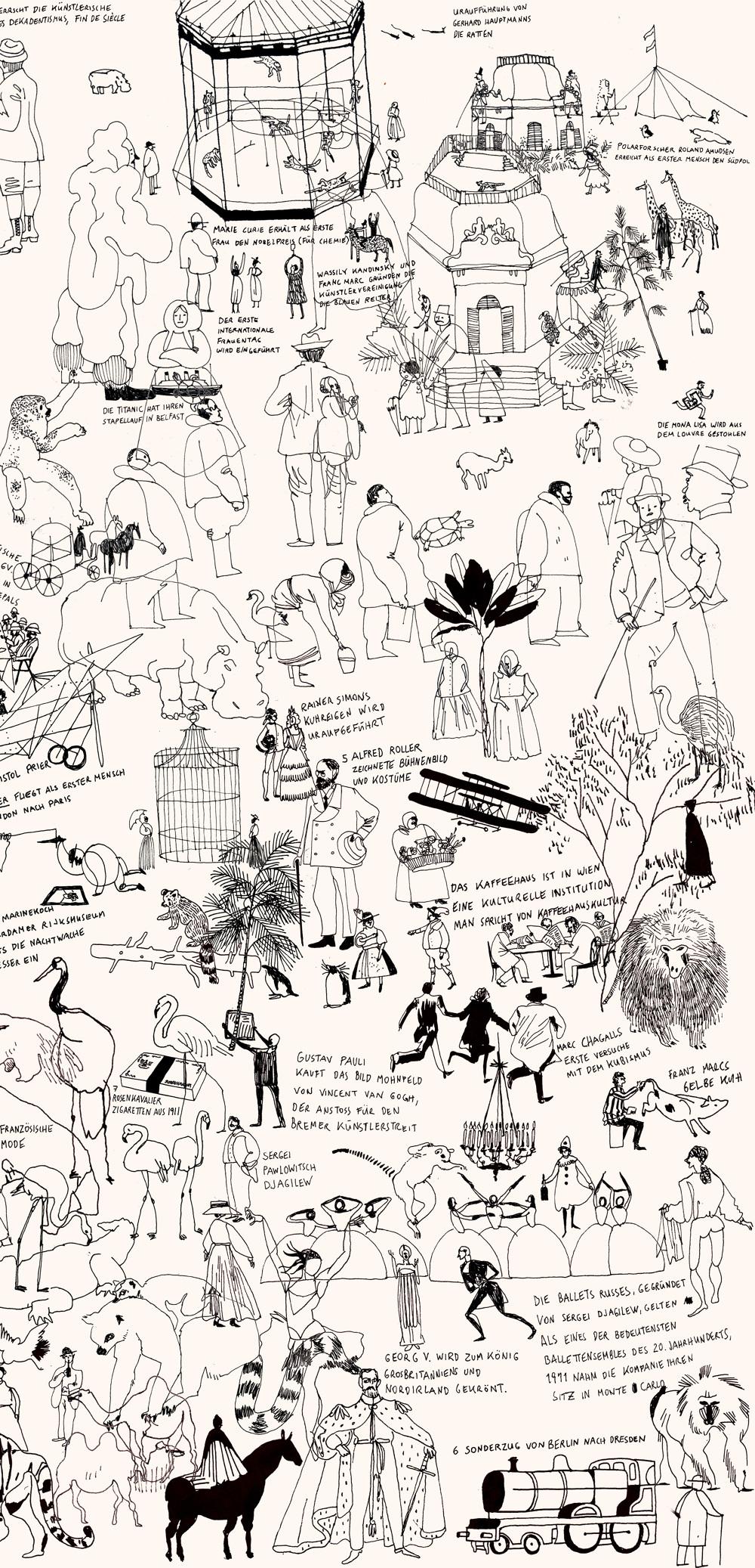 任刚 分享 创业插图 平面广告 lauraedel bacher @ rengang (9)