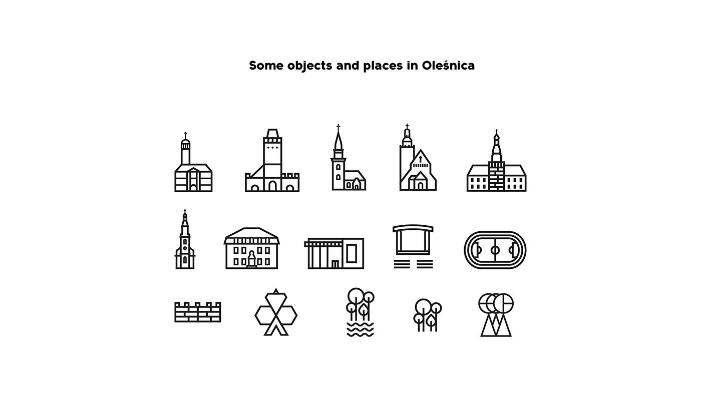 Olesnica 旅游城市视觉形象设计欣赏,所属类别:VI设计、旅游、酒店、城市形象