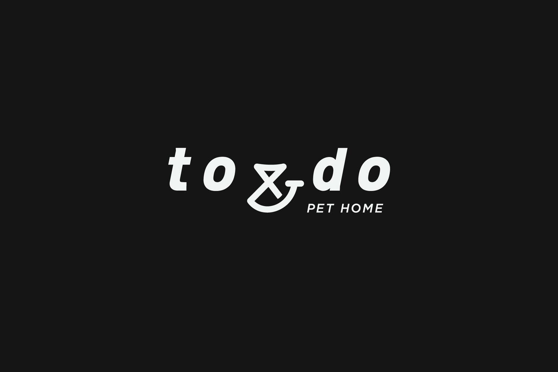宠物服务品牌设计欣赏 – TO & DO 宠物之家,所属类别:品牌设计、LOGO设计、标志、品牌形象