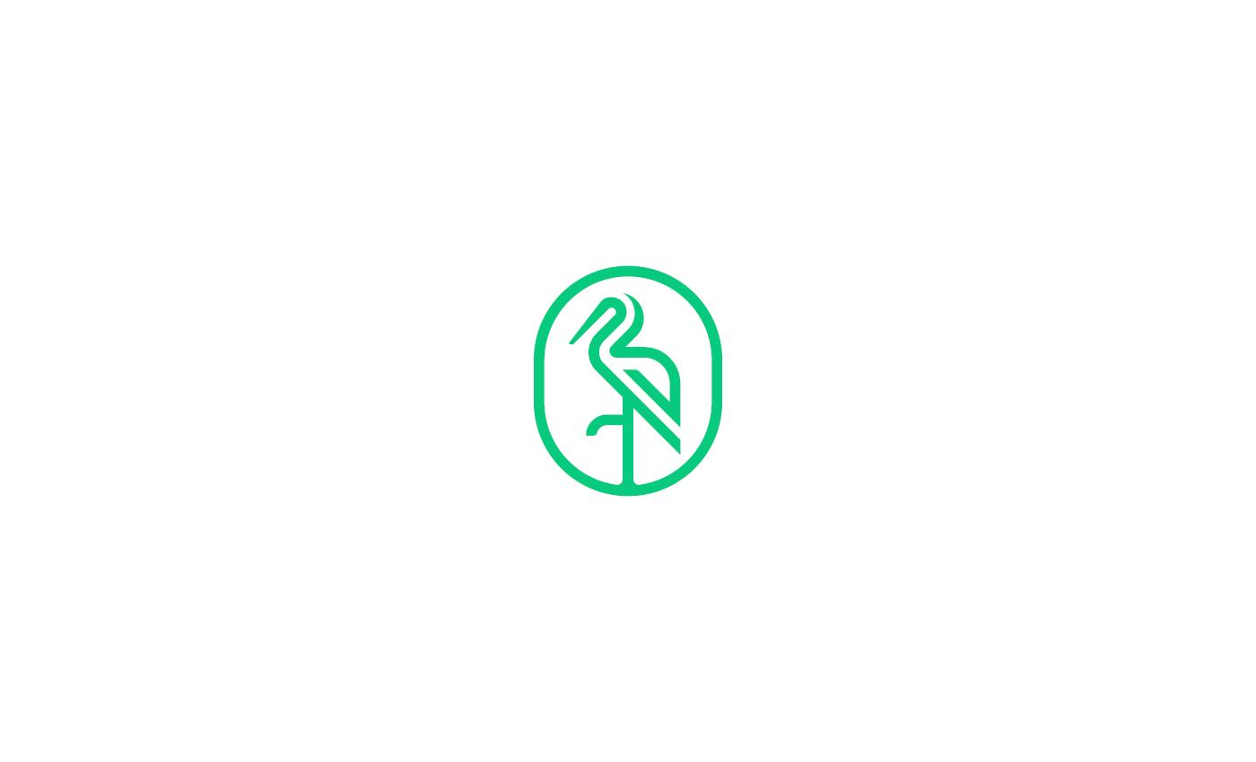 动物标志 Animal Logos 设计欣赏,搜集来源:Behance,所属类别:LOGO、标志、标识、商标