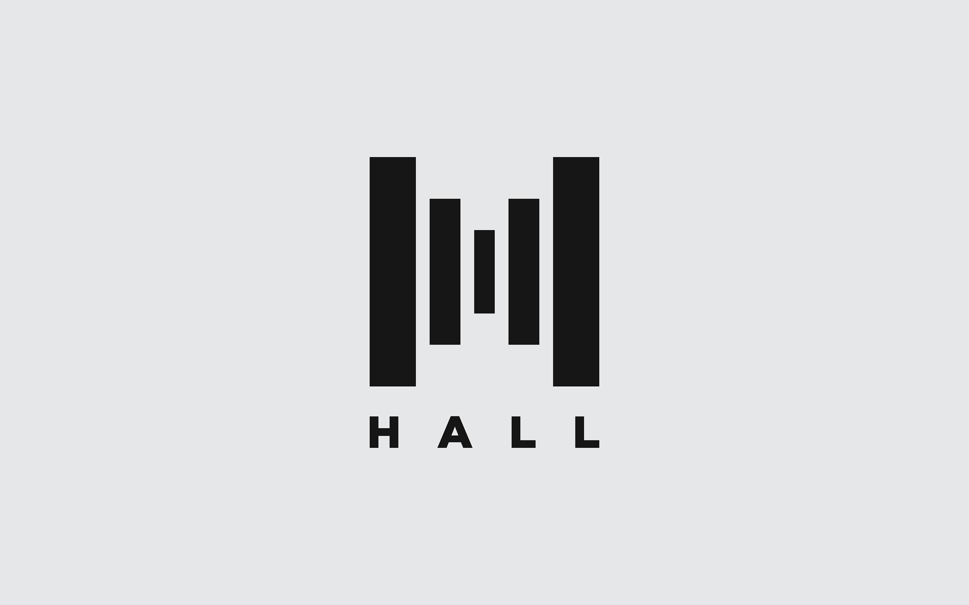 hall 演唱会品牌形象设计欣赏,所属类别:VIS设计、展览、活动、体育