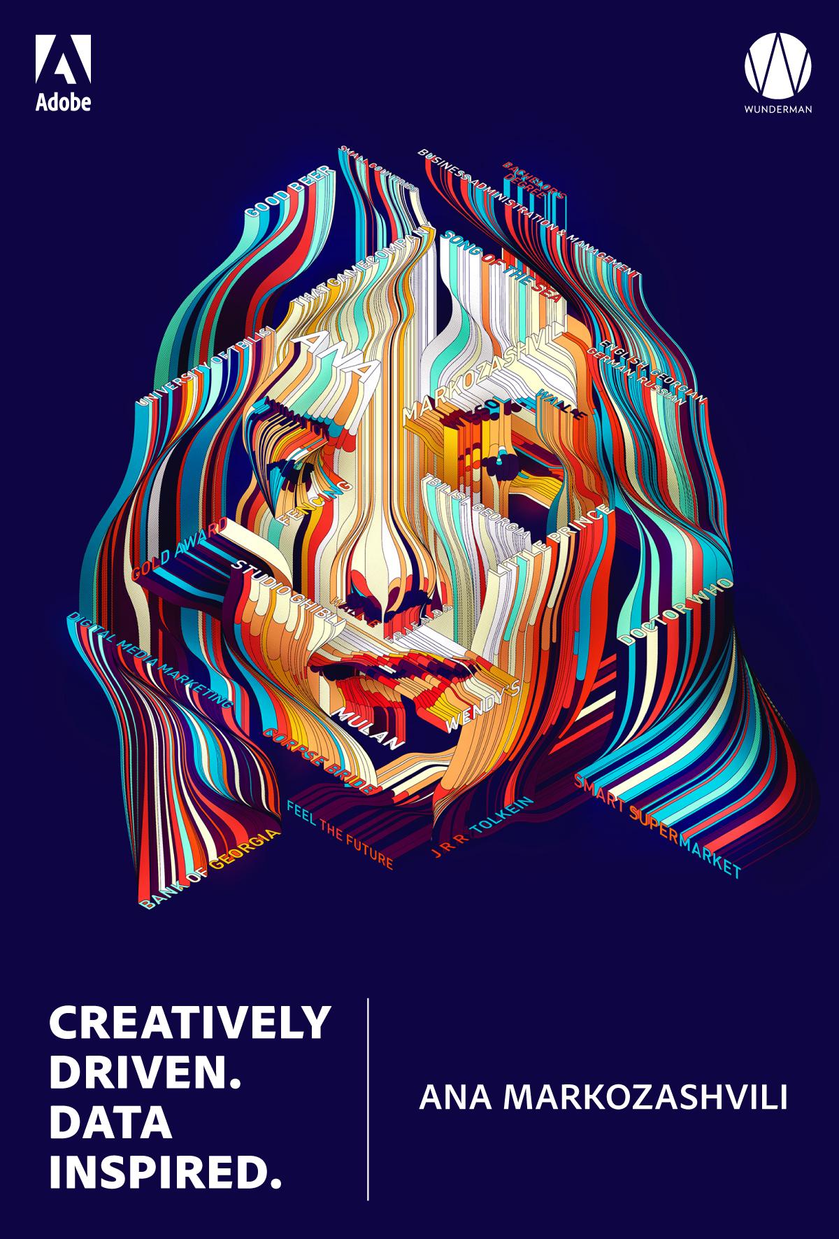 Cannes Lions Poster Design – 扁平化海报设计案例欣赏,所属类别:海报、Poster - 任刚 · Ren Gang 世界设计 · 设计世界