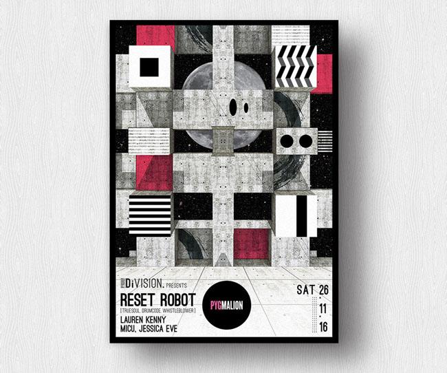 Magda Cwik 海报设计作品欣赏,所属类别:海报、Poster、平面设计