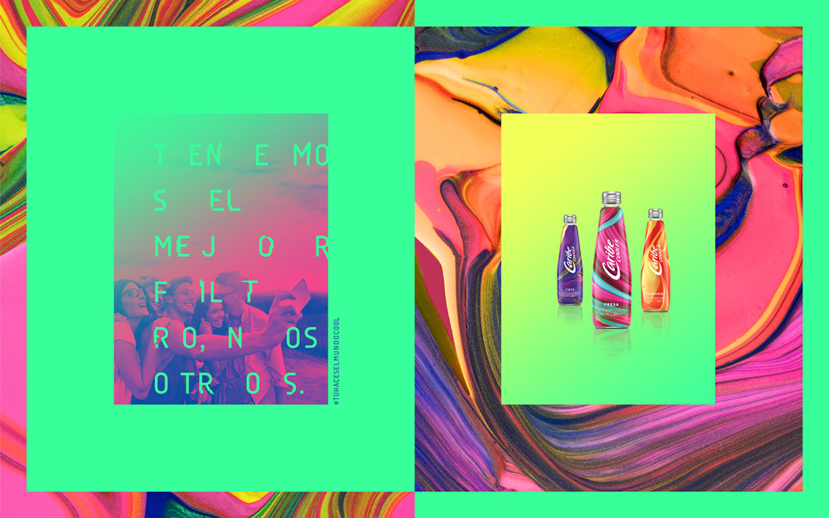 Caribe Cooler Rebranding 饮料包装设计欣赏,所属类别:饮料、包装设计 - 任刚 · Ren Gang 世界设计 · 设计世界