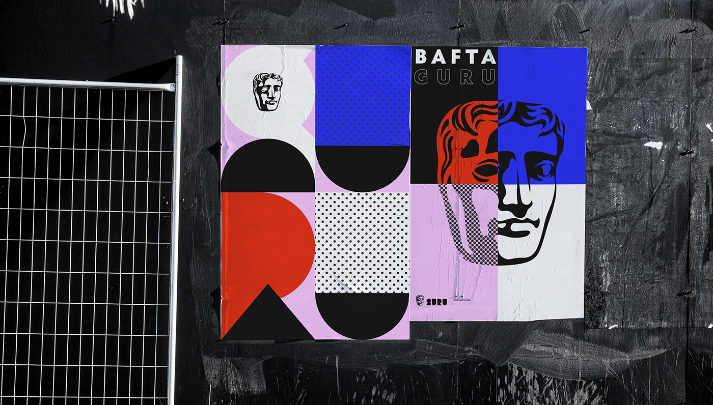 任刚 Ren Gang 整理分享 世界设计 设计世界 BAFTA Guru品牌形象设计欣赏,所属类别:VIS、非盈利机构、公共事业
