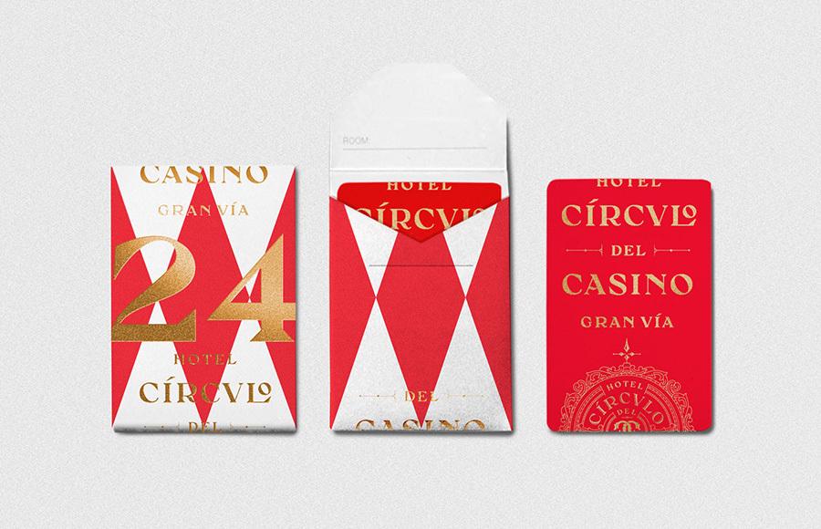 CRCULO DEL CASINO 酒店品牌视觉形象设计 – 国外品牌视觉识别设计作品欣赏