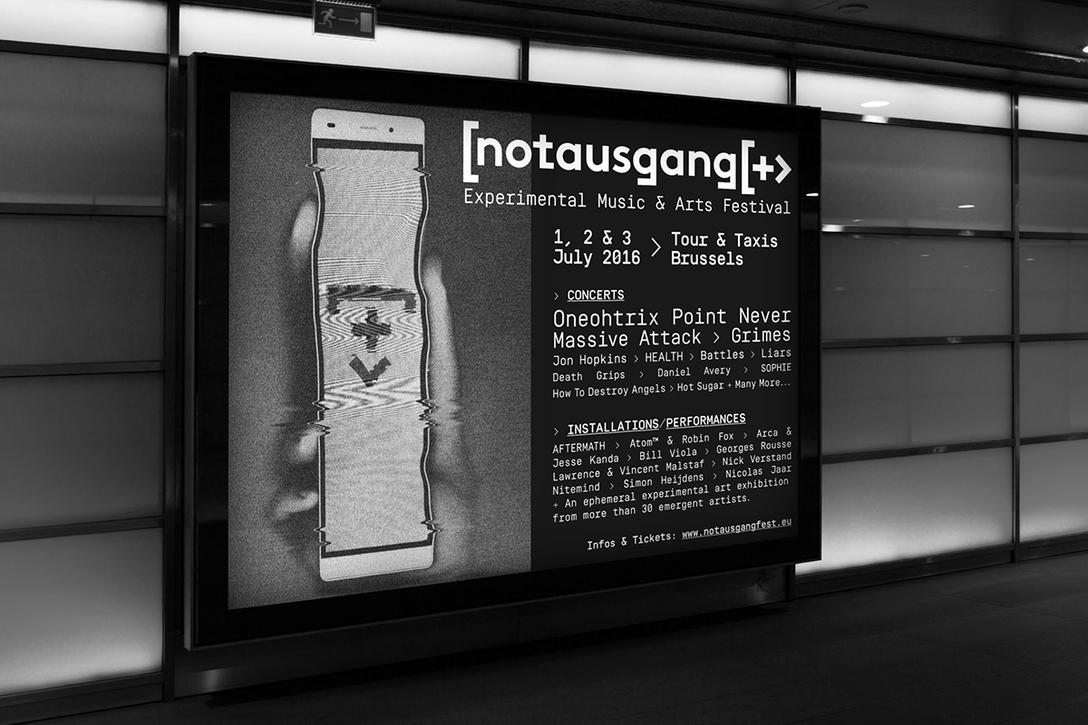 任刚 Ren Gang 整理分享 世界设计 设计世界 notausgang  festival branding 品牌形象设计 – VIS设计 时尚、鞋服、配饰