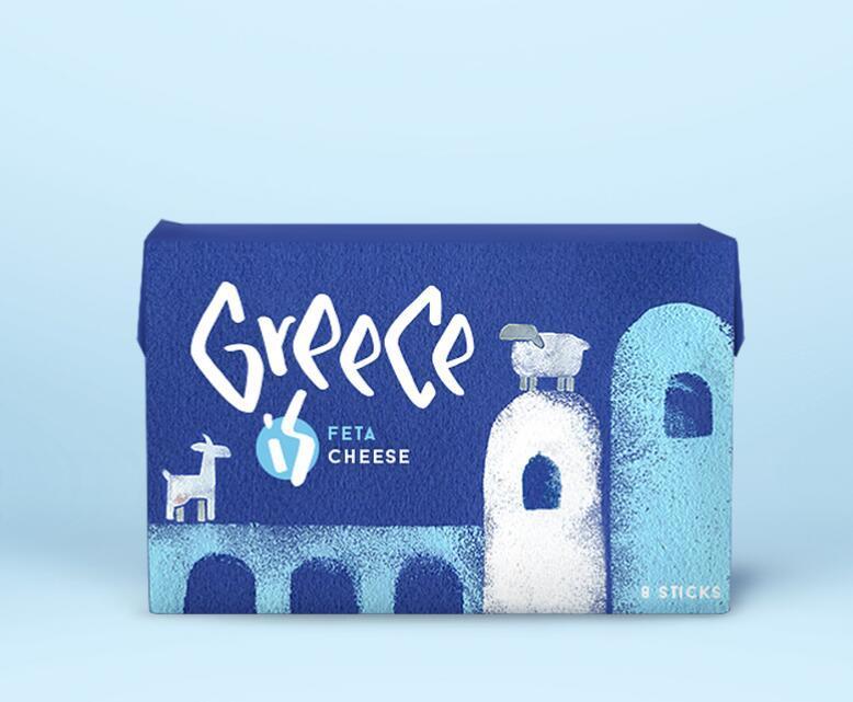 Greece is 希腊食品包装设计 – 国外优秀包装设计作品欣赏 - 任刚 · Ren Gang 世界设计 · 设计世界