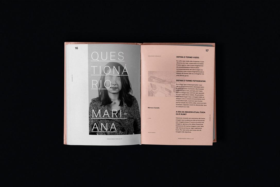 任刚 Ren Gang 整理分享 世界设计 设计世界 Percepcoes-Paralelas 书籍版式设计欣赏 – 国外优秀版式设计案例精选