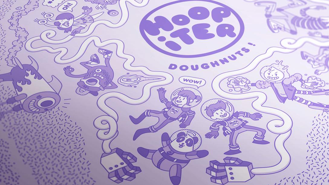 Hoopiter Doughnuts 餐饮、娱乐、休闲 VIS 品牌视觉形象设计欣赏 - 任刚 · Ren Gang 世界设计 · 设计世界