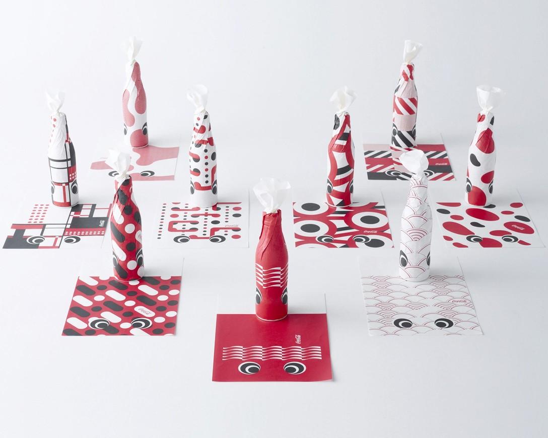 任刚 Ren Gang 整理分享 世界设计 设计世界 Cola-NOBORI – 克里奥奖获奖作品 – 可口可乐(日本)有限公司产品包装设计欣赏