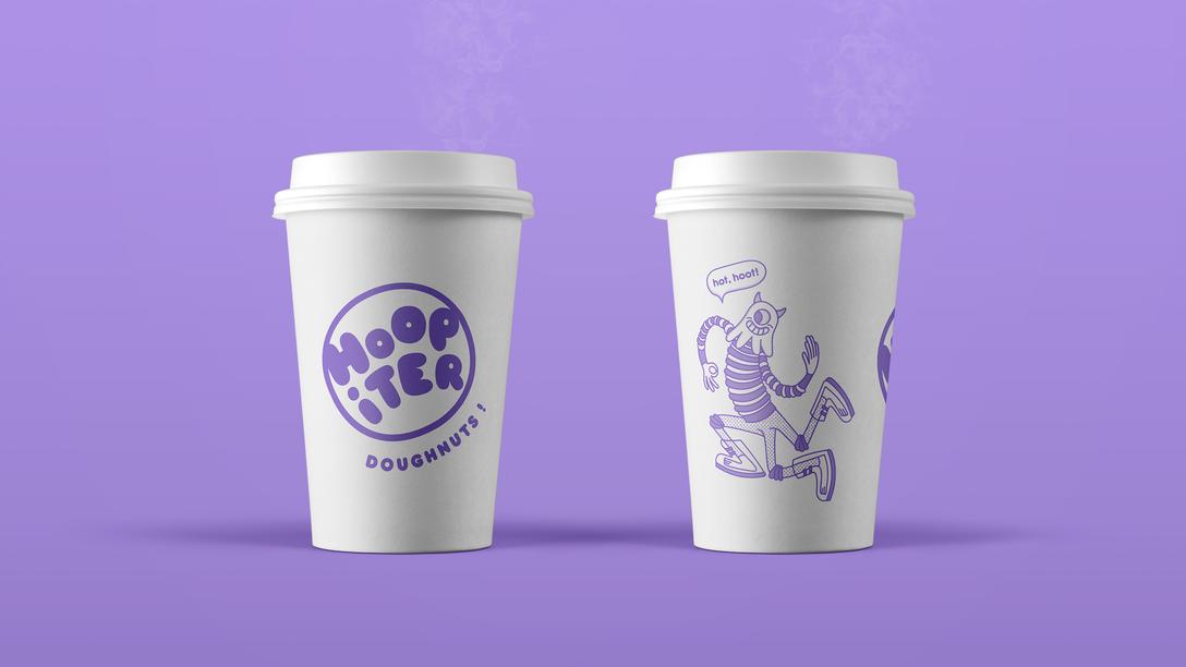 任刚 Ren Gang 整理分享 世界设计 设计世界 Hoopiter Doughnuts 餐饮、娱乐、休闲 VIS 品牌视觉形象设计欣赏
