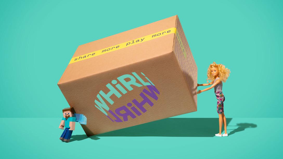 任刚 Ren Gang 整理分享 世界设计 设计世界 Whirly – 儿童玩具平台视觉识别系统设计欣赏 – 国外VIS设计案例精选