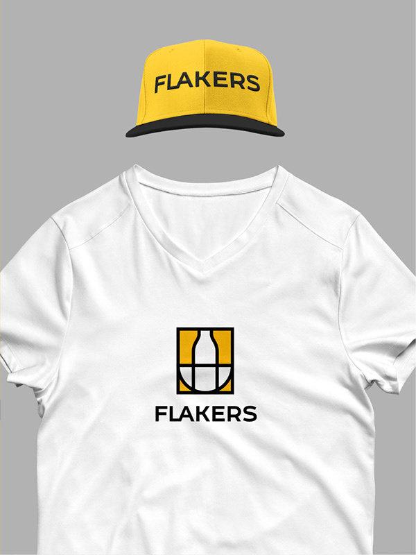 任刚 Ren Gang 整理分享 世界设计 设计世界 FLAKERS 美味早餐品牌VIS视觉识别系统设计欣赏,所属行业:美食、餐饮