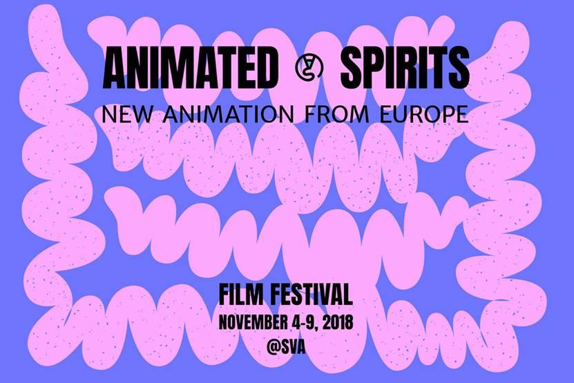 任刚 Ren Gang 整理分享 世界设计 设计世界 Animated Spirits Film Festival New York – Tokyo 视觉识别系统设计欣赏