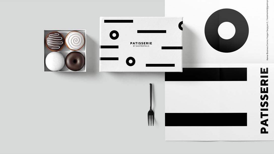 任刚 Ren Gang 整理分享 世界设计 设计世界 食品品牌VIS视觉识别系统设计欣赏 – Gastropolis Food Market Branding