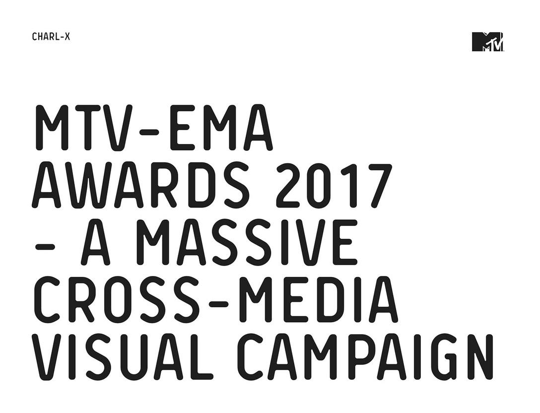 MTV – EMA AWARDS 2017 奖项视觉识别系统设计欣赏