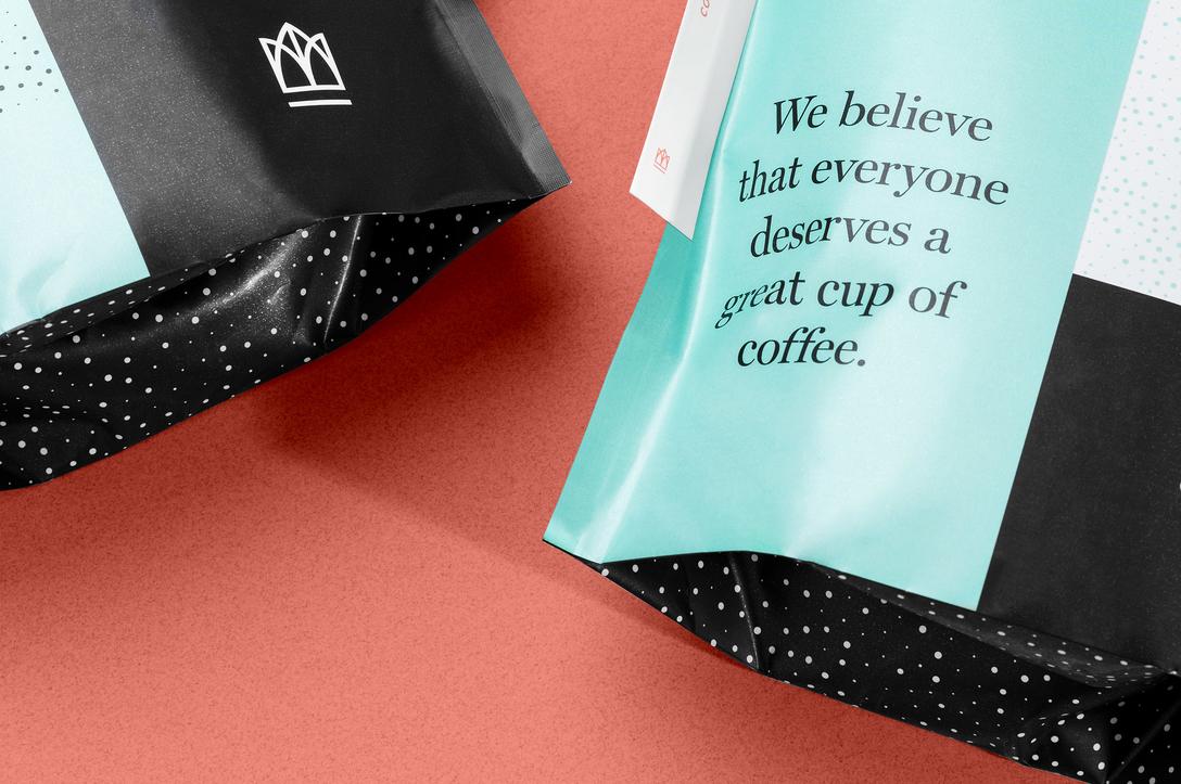 任刚 Ren Gang 整理分享 世界设计 设计世界 咖啡品牌 Crown Coffee VIS视觉识别系统设计欣赏,类别:包装、饮料、咖啡