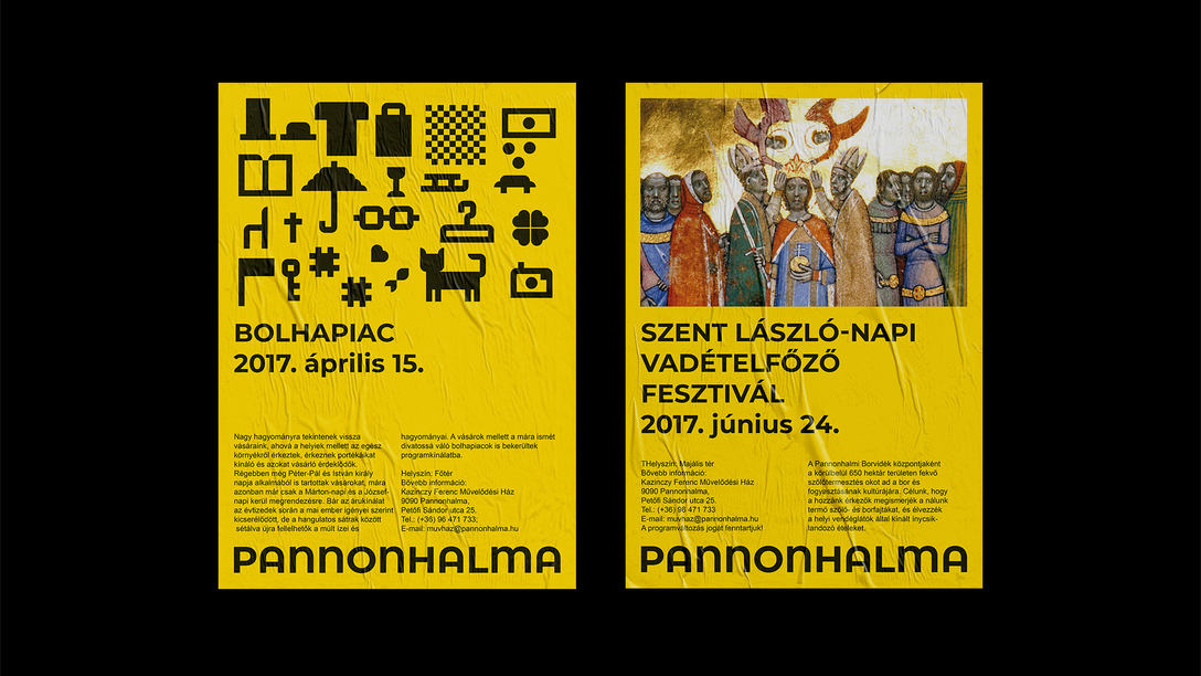 任刚 Ren Gang 整理分享 世界设计 设计世界 CITY OF PANNONHALMA 视觉识别系统VIS设计欣赏,类别:餐饮、娱乐、休闲