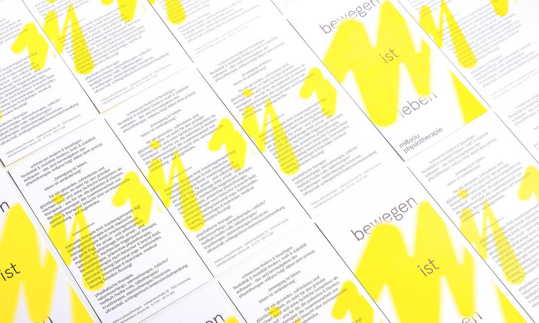 任刚 Ren Gang 整理分享 世界设计 设计世界 mi&you Physiotherapie Corporate Design 时尚、服装、鞋子、配饰品牌视觉识别系统VIS设计欣赏