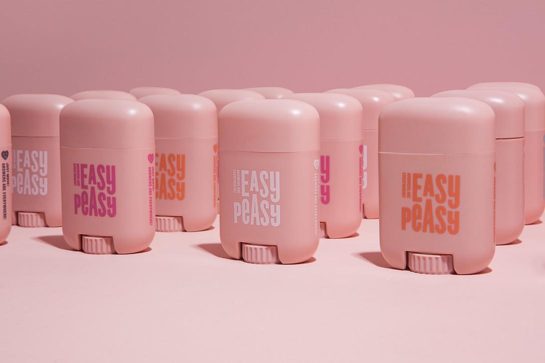 任刚 Ren Gang 整理分享 世界设计 设计世界 EASY PEASY 化妆品品牌视觉识别系统VIS及化妆品包装设计欣赏,行业类别:美容、化妆品、美妆