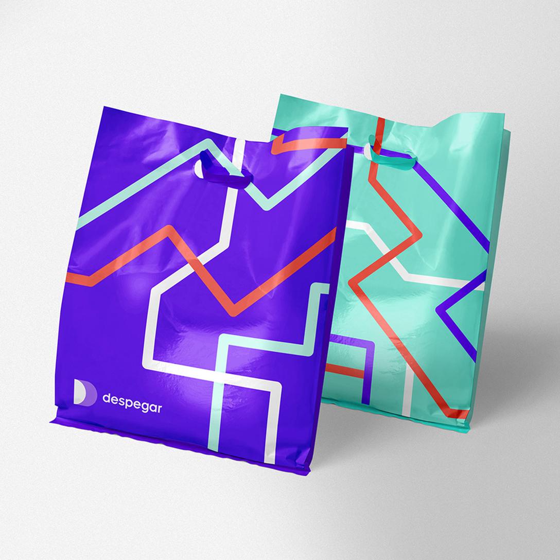 任刚 Ren Gang 整理分享 世界设计 设计世界 拉丁美洲旅行社Despegar更新品牌视觉识别系统VIS设计欣赏