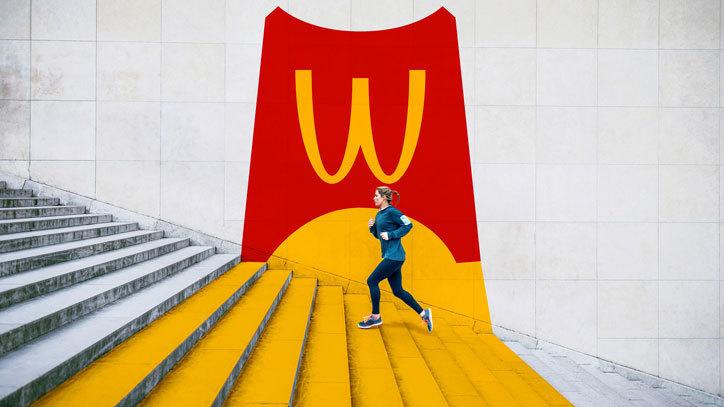 餐饮、休闲、食品品牌巨头麦当劳(McDonald)视觉识别系统再设计欣赏