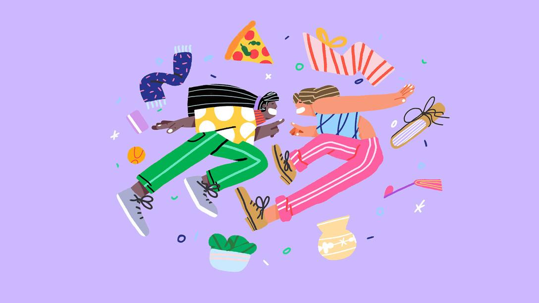 餐饮、娱乐、休闲品牌 Venmo 视觉识别系统/插画/VIS设计欣赏 - 任刚 · Ren Gang 世界设计 · 设计世界
