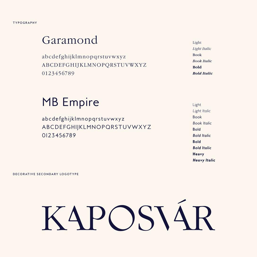 匈牙利考波什堡Kaposvár城市品牌项目视觉识别系统设计欣赏 – 国外优秀VI设计案例学习 - 任刚 · Ren Gang 世界设计 · 设计世界