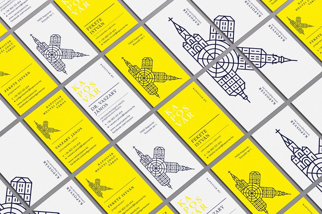 匈牙利考波什堡Kaposvár城市品牌项目视觉识别系统设计欣赏 – 国外优秀VI设计案例学习