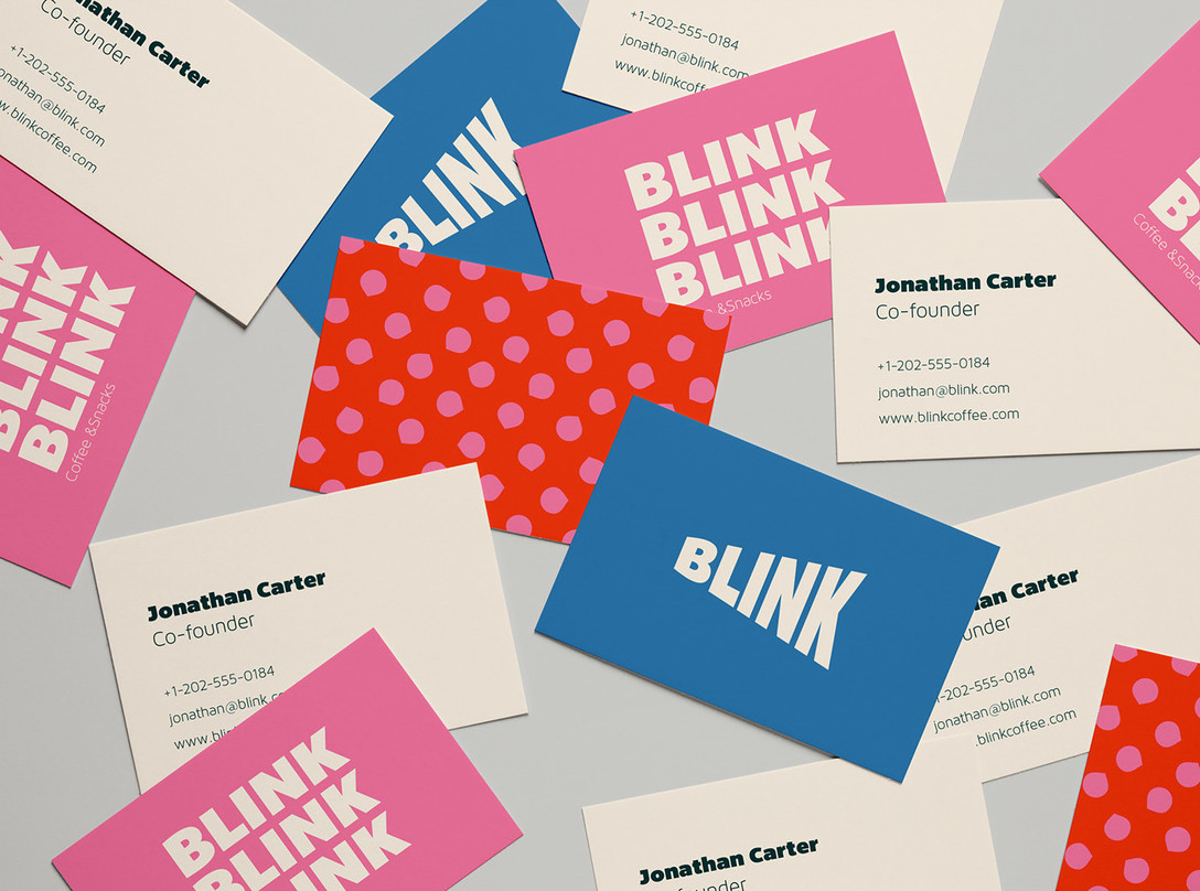 Blink Coffee – 咖啡/咖啡店品牌视觉识别系统设计欣赏 - 任刚 · Ren Gang 世界设计 · 设计世界