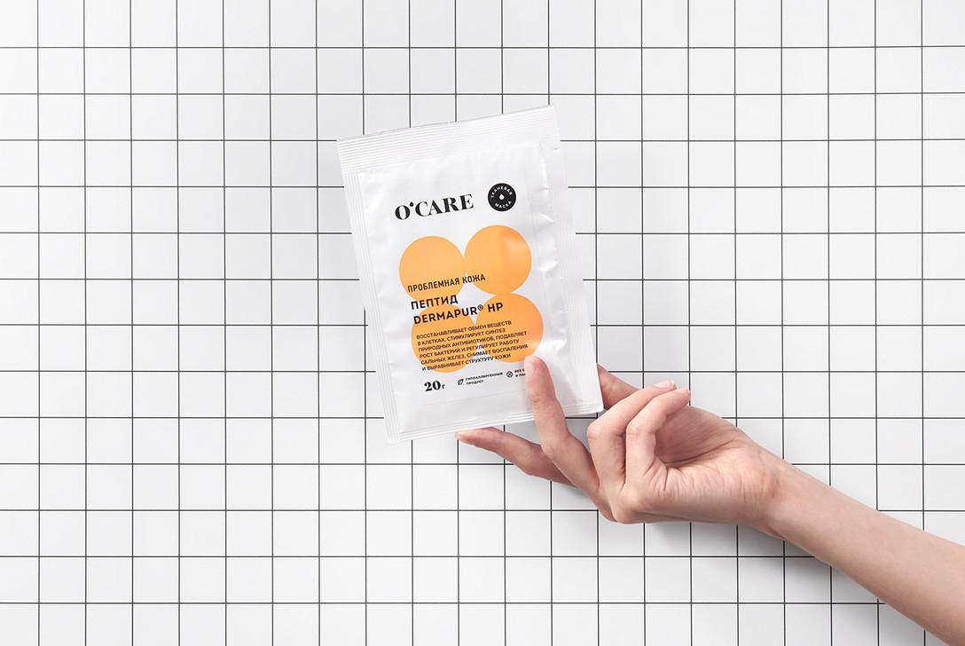 Ocare 面膜品牌VIS视觉识别系统设计欣赏 – 美容/化妆品 - 任刚 · Ren Gang 世界设计 · 设计世界